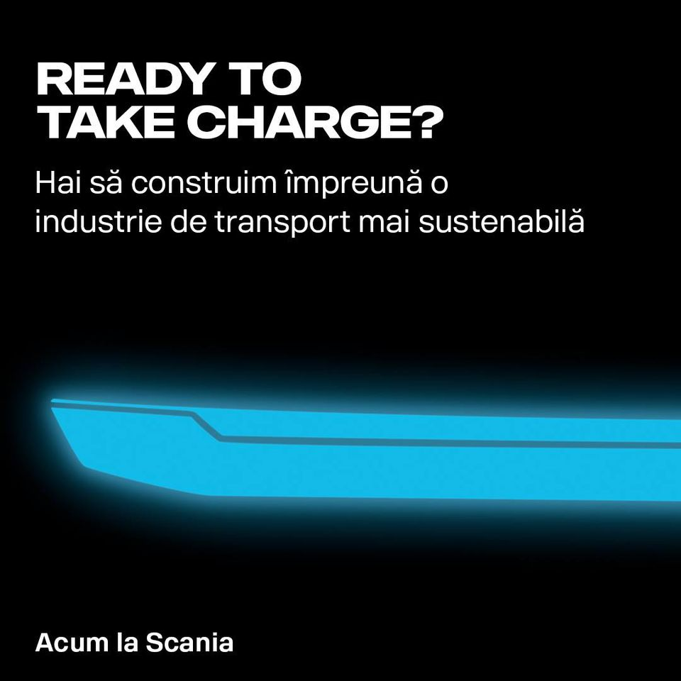 Scania și campania Take Charge